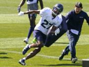 The Seahawks see safety Marquise Blair as their best option as a nickel cornerback. It's not an easy transition.