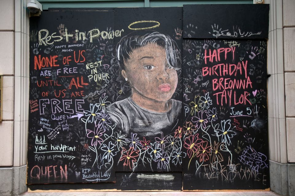 Breonna Taylor was killed by Louisville police in March. Her death has been a focal point of racial justice protests nationwide.