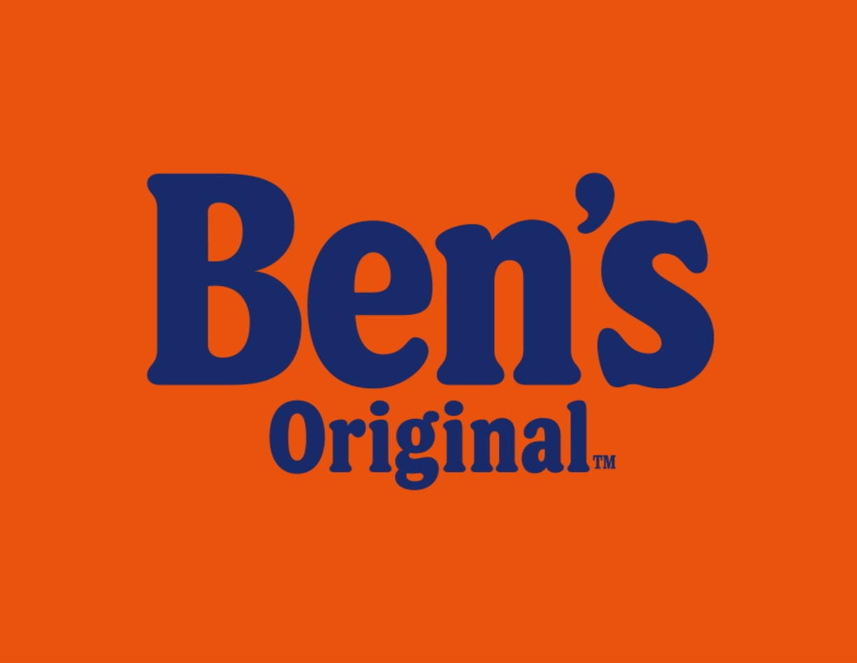 This image provided by Mars Food shows the new logo/name of Ben's Original. The Uncle Ben's rice brand is getting a new name: Ben's Original. Parent firm Mars Inc. unveiled the change Wednesday, Sept. 23, 2020 for the 70-year-old brand, the latest company to drop a logo criticized as a racial stereotype. Packaging with the new name will hit stores next year.