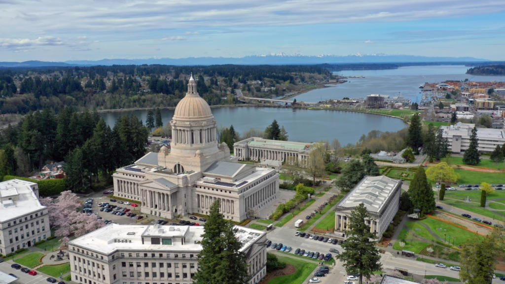 Washington's state Capital building in Olympia (iStock.com)