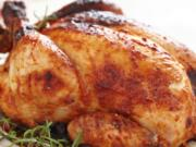 Rosemary Roasted Chicken With Red Grapes is an elegant and fragrant dish easy enough for everyday cooking but fancy enough for company.