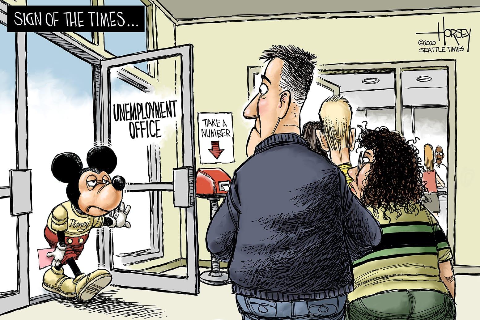 Oct. 3: Disney Layoffs