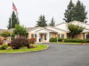 The Marysville Care Center on Grove Street in Marysville.