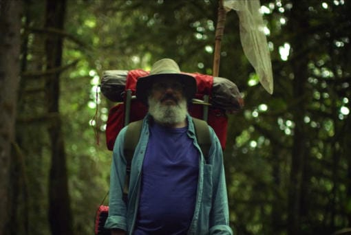 "In ""The Dark Divide,"" David Cross stars as Southwest Washington naturalist Robert Michael Pyle as he takes a journey across the Gifford Pinchot National Forest. (Sean Bagley/Dark Divide LLC)"