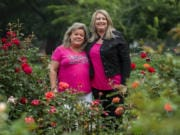 Sherry Cianni, left, and Heather James have had to do cancer treatment without friends or family accompanying them because of COVID-19 precautions in place at clinics and hospitals.
