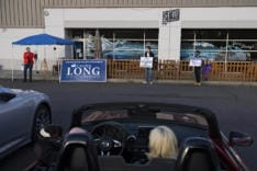 Carolyn Long Drive-In Town Hall news photo gallery