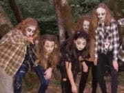 The student dancers with Dance Fusion Northwest will thrill visitors to the Doddridge familyis haunted Salmon Creek yard on Halloween night.