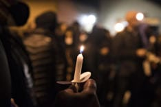 Vigil for Kevin E. Peterson Jr. news photo gallery