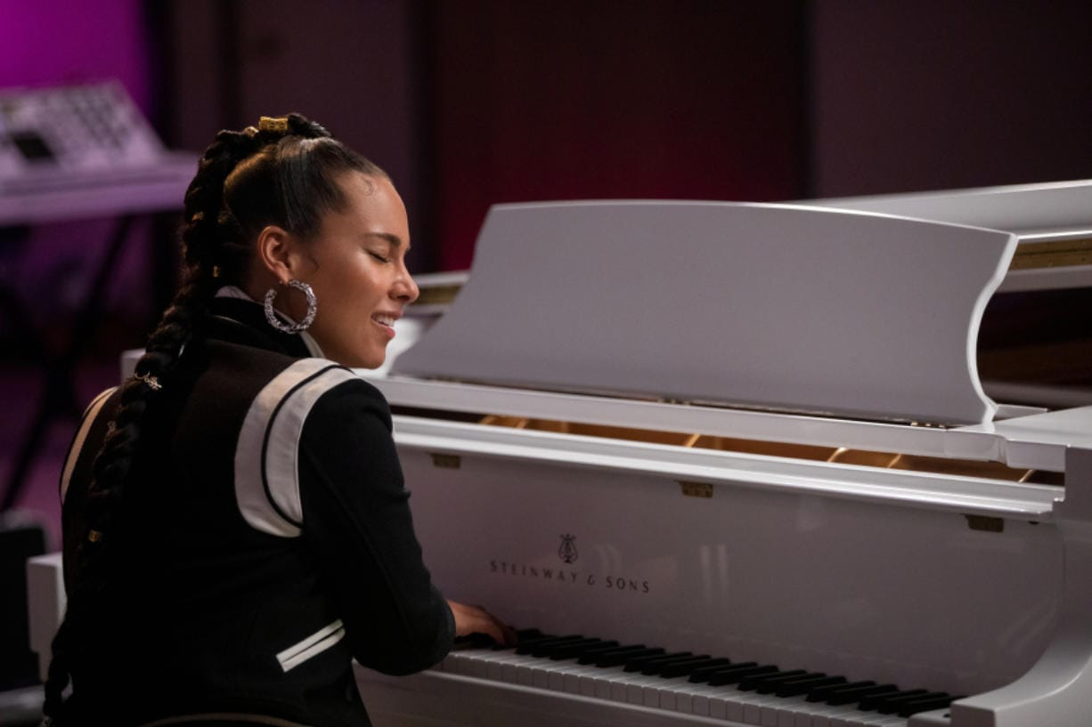 "Alicia Keys in ""Song Exploder,"" a new Netflix series based on the popular music podcast."