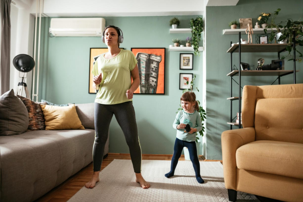 Online fitness classes and apps are just a couple of ways people can integrate fitness into their routine as they stay home during the pandemic.