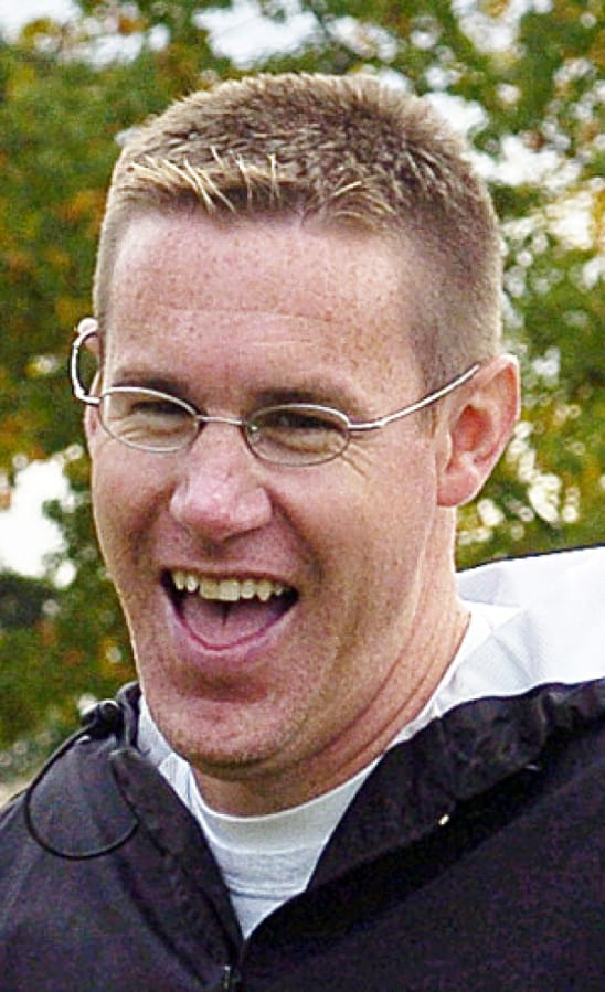 Football coach Mike Woodward in 2004.