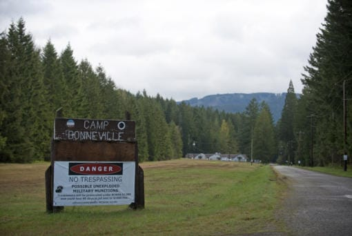 Camp Bonneville as seen in 2012. Clark County expects the nearly two-decade cleanup of the site to be completed by March.