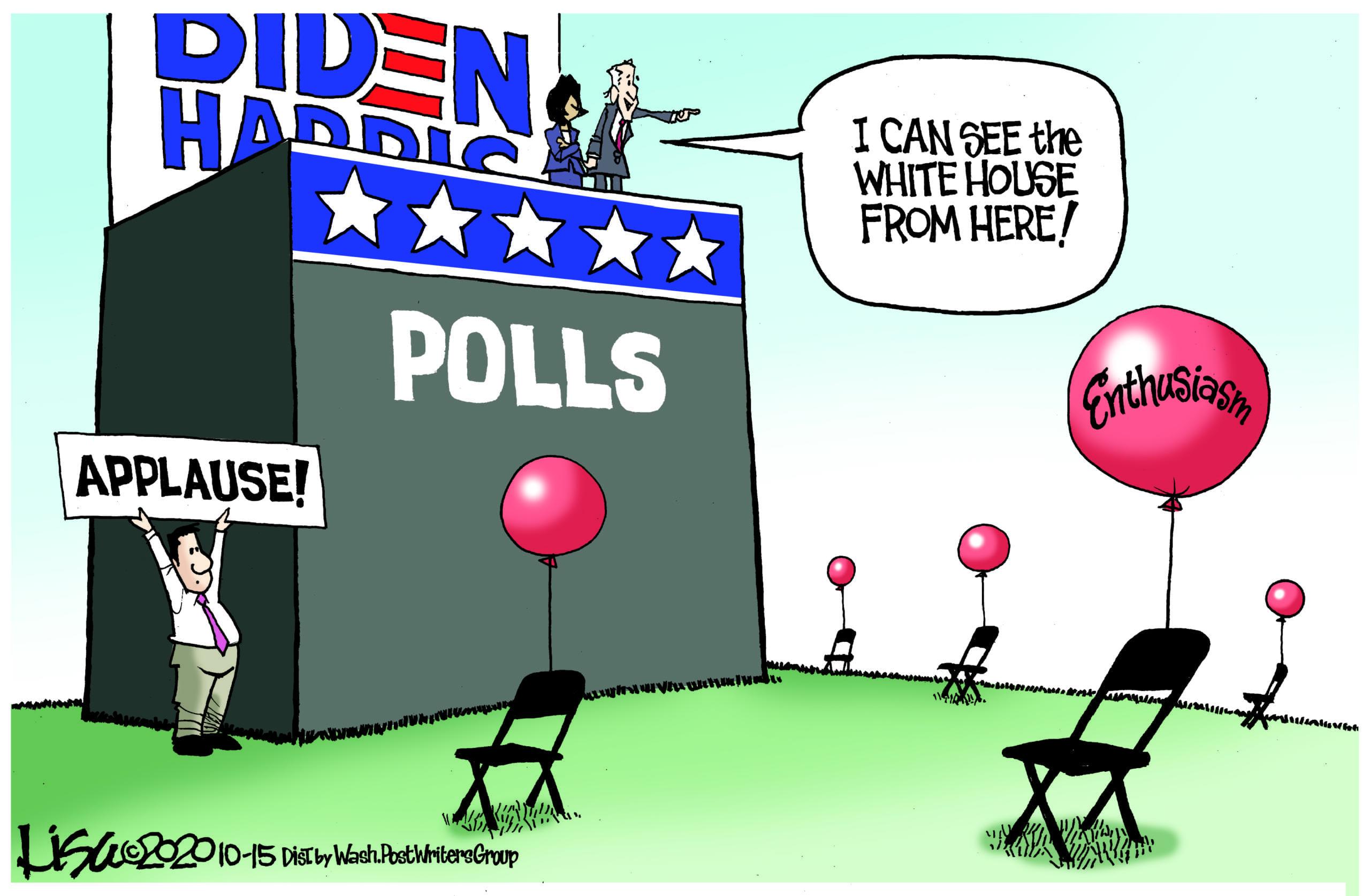 Oct. 17: Biden Enthusiasm