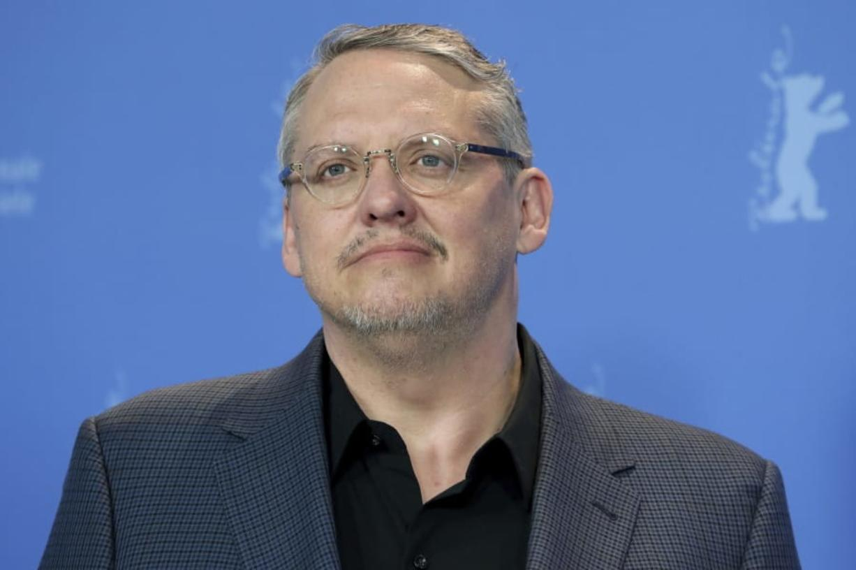 """FILE - Director Adam McKay appears during a photo call for the film """"Vice"""" at the 2019 Berlinale Film Festival in Berlin, Germany on Feb. 11, 2019. McCay's latest film is """"537 Votes,"""" a documentary about the 2000 Presidential election."""