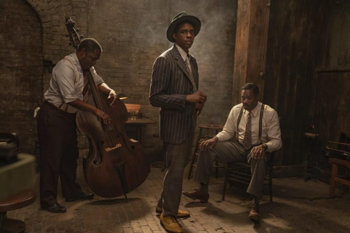 """Chadwick Boseman in """"Ma Rainey's Black Bottom."""" (Netflix)"""
