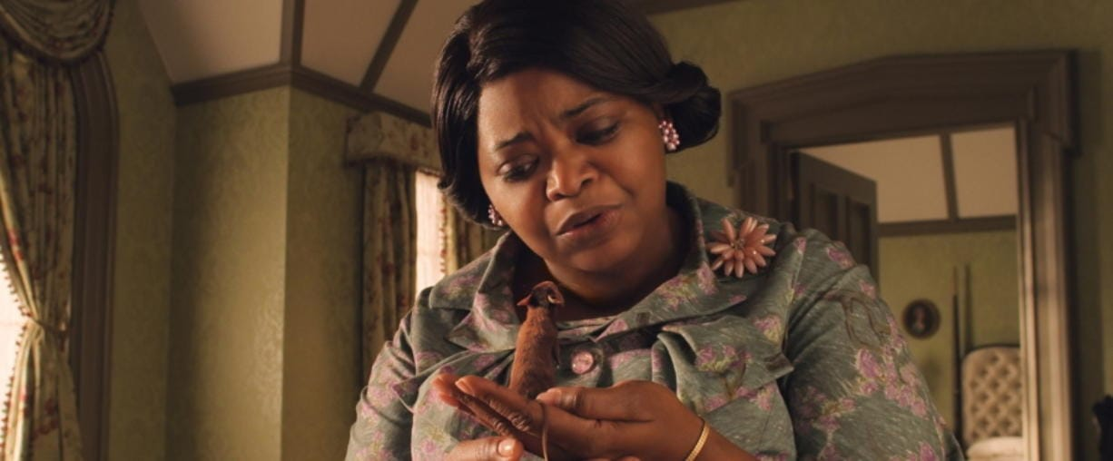 "This image released by Warner Bros. Entertainment shows Octavia Spencer in a scene from ""The Witches."" (Warner Bros. Entertainment via AP) (Warner Bros."