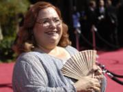 "Conchata Ferrell arrives at the 59th Primetime Emmy Awards on Sept. 16, 2007, in Los Angeles. Ferrell, who became known for her role as Berta the housekeeper on ""Two and a Half Men,"" has died. She was 77."