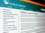 Clark County Public Health launched a dashboard that tracks COVID-19 cases in schools.