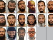 This combination of photos obtained by WikiLeaks shows 16 of the 18 Yemeni prisoners who were detained in Guantanamo Bay for more than a decade and were transferred years ago by the United States to the UAE with promises that they would be integrated into society. Instead, the UAE held the men in indefinite detention, according to families and lawyers. Most recently, UAE is allegedly forcing the men to return to Yemen, a country torn among rival factions, each running networks of secret prisons.