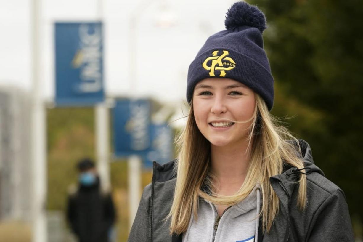 Madison Zurmuehlen, Freshman at the University of Missouri-Kansas City