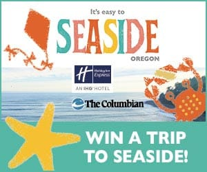 Seaside Escape Sweepstakes contest promotional image