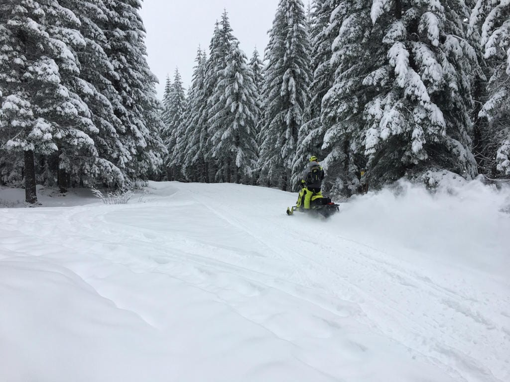 While the snowpack in Western Washington is good right now, whether it sticks around through the winter remains to be seen.