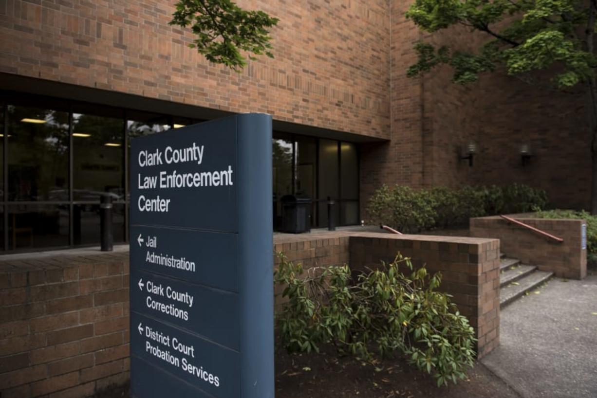 The Clark County Law Enforcement Center.