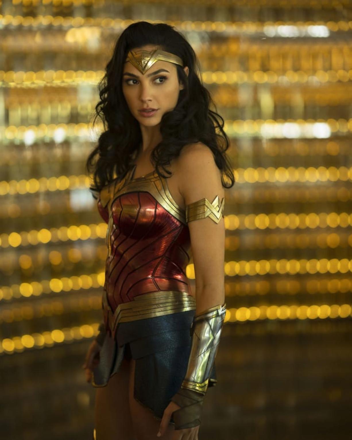 Gal Gadot returns as the Amazing Amazon in 'Wonder Woman 1984.' (Clay Enos/Warner Bros)