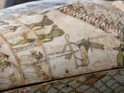 Wooden sarcophagi were unveiled Nov. 14 at the Saqqara necropolis outside of Cairo in Egypt, the second such find this year.