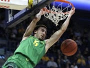 Oregon's Chris Duarte returns for his senior season. He started all 28 games last season, averaging 12.9 points and 5.6 rebounds a game.