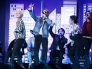 "BTS' new album, ""Be,""? features the No."