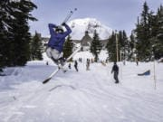 Timberline offers a variety of ski runs for all abilities.