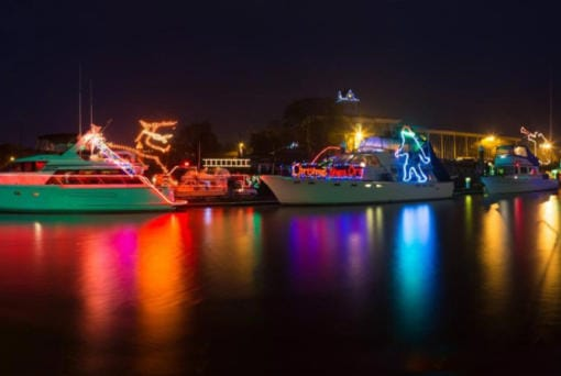The perfect social distancing activity, the Christmas Ships Parade will float again this year.