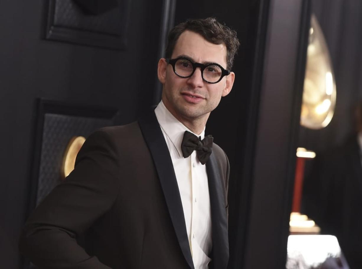 Jack Antonoff arrives at the 62nd annual Grammy Awards on Jan. 26, 2020, in Los Angeles.