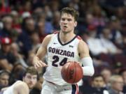 Gonzaga's Corey Kispert, a member of the 2020-21 preseason All-America team, is a driving force behind the Zags' national title hopes.
