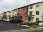 An early morning apartment fire in Woodland did minimal damage to the complex, thanks to an automatic fire sprinkler system, according to Clark-Cowlitz Fire Rescue.