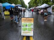 COVID-19 precautions have altered the Vancouver Farmers Market this year and limited the number of visitors. In lieu of the usual harvest and holiday markets bookending Thanksgiving, an outdoor market will continue on Saturdays through Dec. 19.