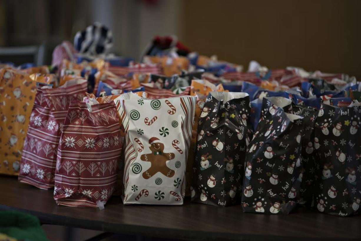 The Fort Vancouver Seafarers Center isn't able to host its annual Christmas party for ship crews this year, so instead the volunteers are aiming to deliver 1,100 gift bags.