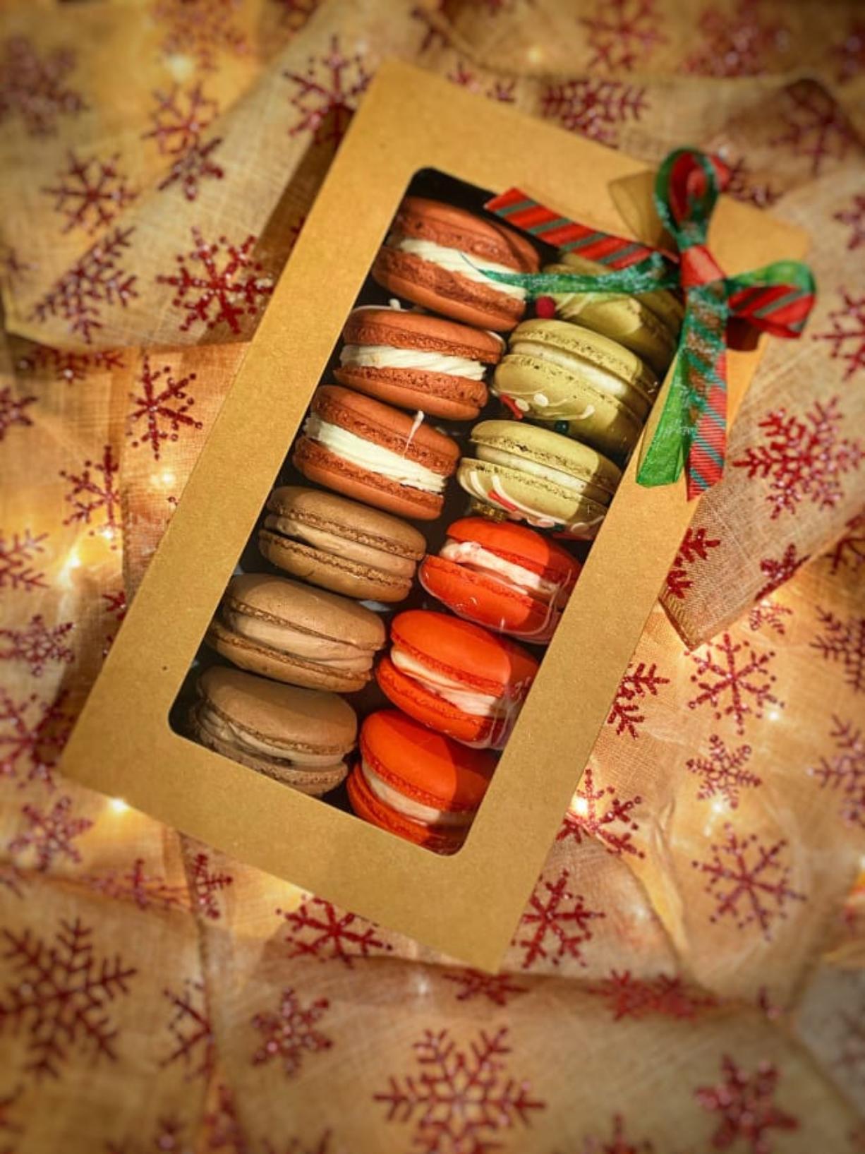 Macarons by Brittnee Klinger.