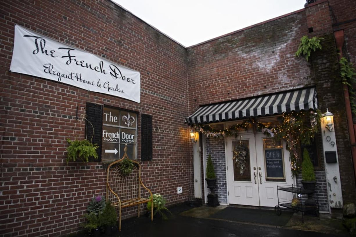 The French Door, tucked inside one of downtown Vancouver's historical buildings on Mill Plain Blvd., beckons shoppers inside for fabulous finds.