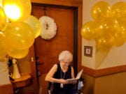 "BENNINGTON: The Quarry Senior Living resident Neldagene ""Nelda"" Helen (Ayers) Tharp celebrated her 100th birthday on Dec."