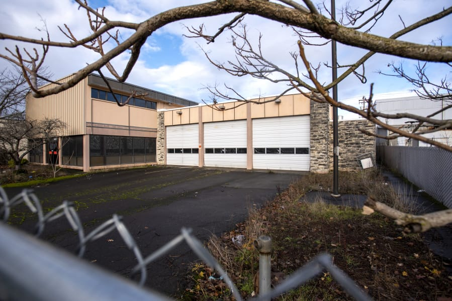 The old Fire Station 1 building pictured Dec. 17. The Oliva family, who owns the neighboring Hi-School Pharmacy headquarters, purchased the property from the city for $1.25 million.
