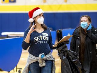 Seton Catholic hosts St. Vincent De Paul toy drive