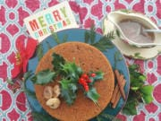 "Nothing says ""Merry Christmas!"" like a steamed figgy pudding, full of dried fruit and the Christmas tipple of your choice."