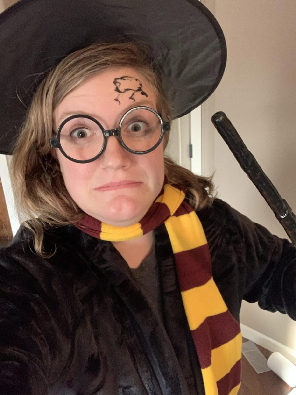 RIDGEFIELD: Marta the Mathematician is an alter ego of Southridge Elementary School third-grade teacher Kristen Potter, who started dressing up to engage students in her online classes.