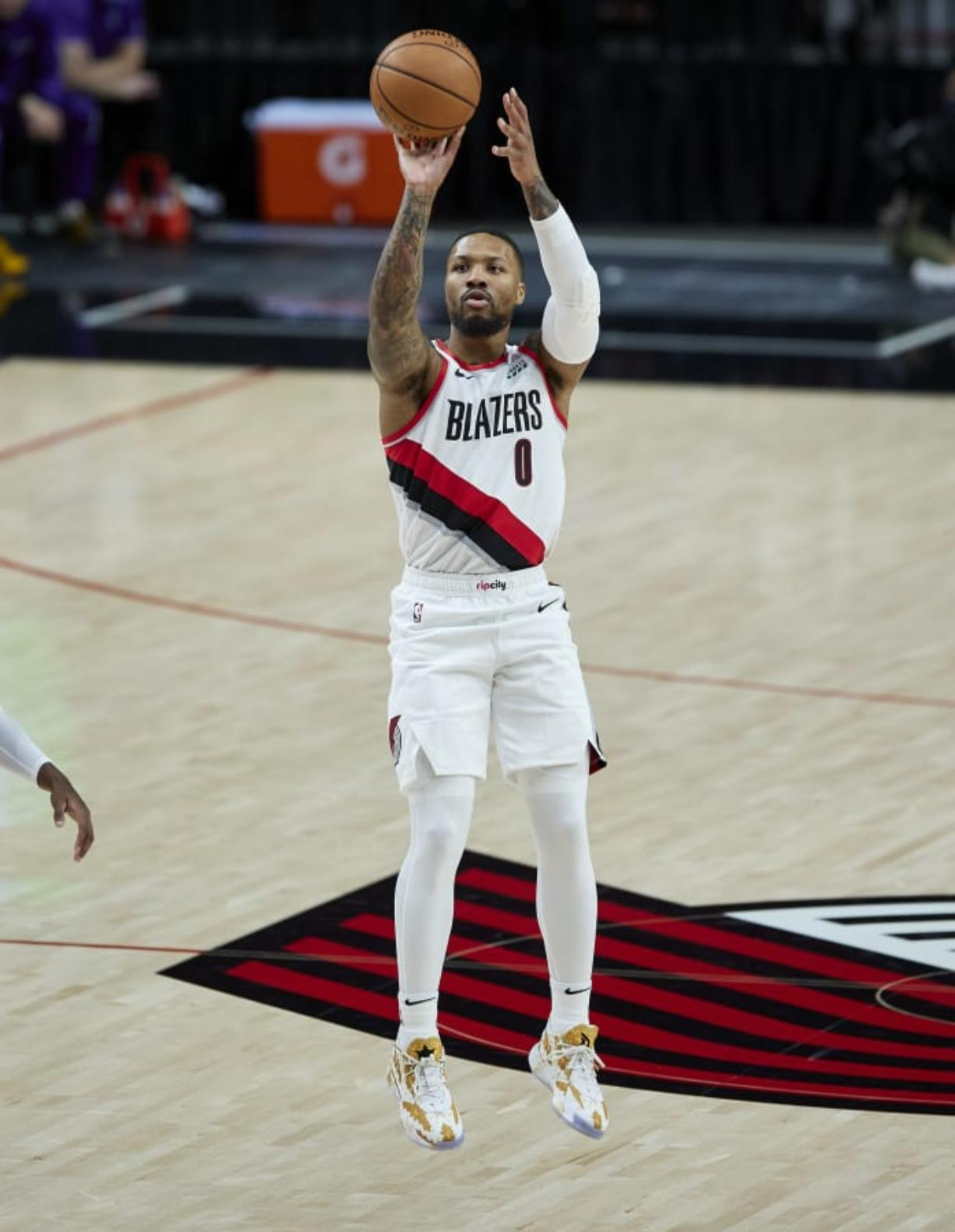 Entering his ninth season with the Portland Trail Blazers, guard Damian Lillard would like nothing better than to have a chance to win an NBA title in Portland.
