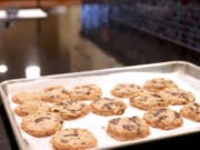 Salted butter and chocolate chunk shortbread cookies. (Colter Peterson/St.
