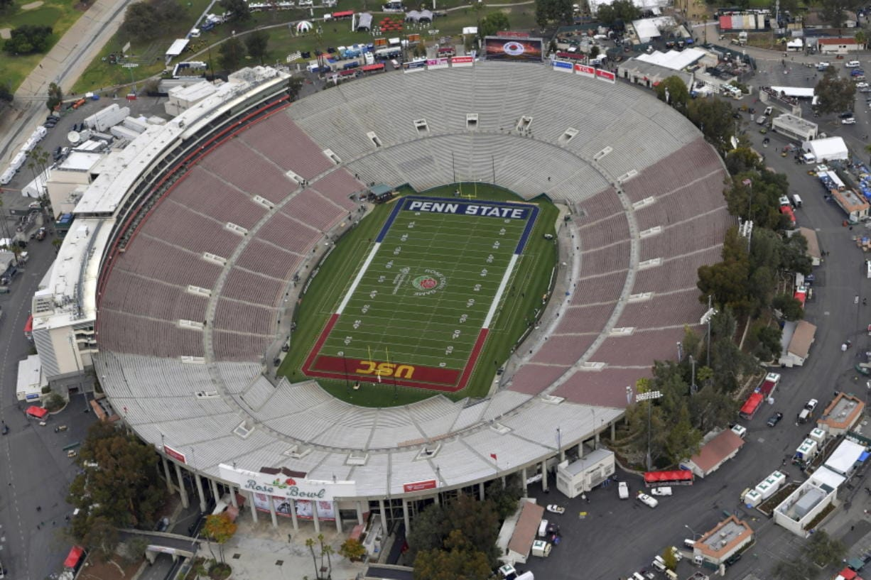The Rose Bowl was denied a special exemption from the state of California to allow a few hundred fans to attend the College Football Playoff semifinal on Jan. 1.