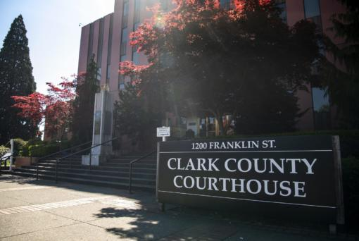The Clark County Courthouse.