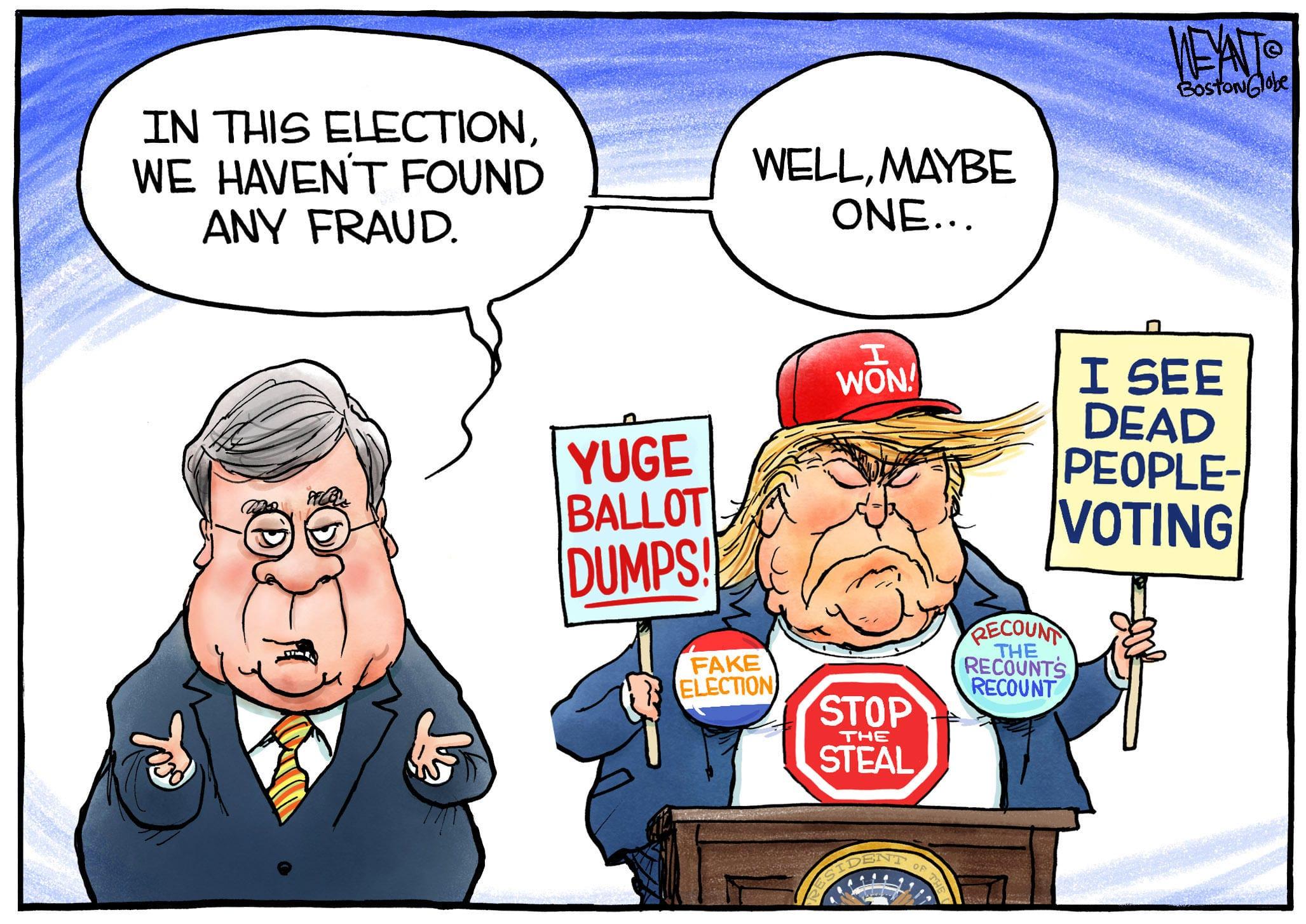 Dec. 5: Election Fraud
